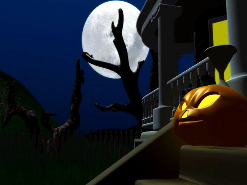 Halloween Night 3D Screensaver preview 0